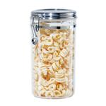 Oggi Acrylic 72 Ounce Dry Food Clamp Canister