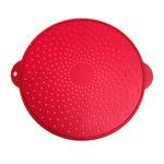 Norpro Red Silicone 11.5 Inch Medium Splatter Screen
