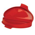 Norpro Red Silicone Microwave 2 Egg Omelet Maker