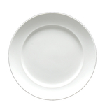 Fortessa Fortaluxe White Casia 10.75 Inch Round Plate