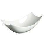 Fortessa Fortaluxe Fiji White 4 Ounce Rectangular Bowl