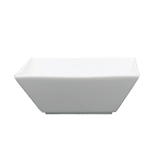 Fortessa Fortaluxe Plaza White 20 Ounce Deep Square Bowl