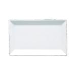 Fortessa Fortaluxe Plaza White 16 x 10 Inch Rectangular Tray