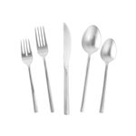 Fortessa Arezzo 18/10 Stainless Steel 5 Piece Place Setting Flatware Set