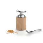 Peugeot Isen Natural Wood 5 Inch Flax Seed Mill
