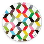 French Bull Ziggy Melamine 15.5 Inch Round Platter