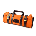 Boldric Orange Canvas 17 Pocket Knife Bag