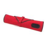 Boldric Red Canvas 6 Slot Knife Bag