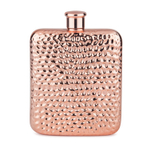 Final Touch Copper Plated Stainless Steel 6 Ounce Luxe Flask