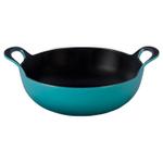 Le Creuset Caribbean Enameled Cast Iron 3 Quart Balti Dish