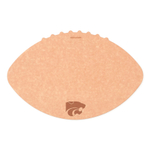 Epicurean Kansas State University 16 x 10.5 Inch Football Cutting and Serving Board