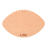 Epicurean Louisiana State University 16 x 10.5 Inch Football Cutting and Serving Board