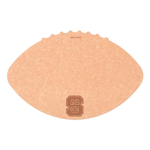 Epicurean North Carolina State University 16 x 10.5 Inch Football Cutting and Serving Board