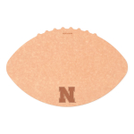 Epicurean University of Nebraska 16 x 10.5 Inch Football Cutting and Serving Board