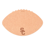 Epicurean University of Southern California 16 x 10.5 Inch Football Cutting and Serving Board