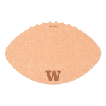 Epicurean University of Washington 16 x 10.5 Inch Football Cutting and Serving Board