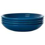Le Creuset Marseille Stoneware 9.75 Inch Pasta Bowl, Set of 4