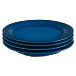 Le Creuset Marseille Stoneware 8.5 Inch Salad Plate, Set of 4