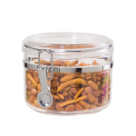 Oggi Acrylic 28 Ounce Airtight Clamp Dry Food Canister