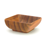 Pacific Merchants Acaciaware 6 Inch Square Bowl