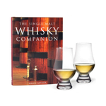 Glencairn 3 Piece Whiskey Glass and Book Gift Set