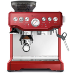 Breville BES870CBXL Barista Express Cranberry Red Stainless Steel Espresso Machine