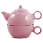 Metropolitan Tea Pink Rose Ceramic Tea For Me Pot