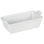 Le Creuset Heritage White Stoneware Loaf Pan, 1.5 Quart