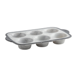 Trudeau Pro Marble Silicone Structure Jumbo 6 Count Muffin Pan