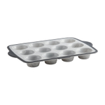 Trudeau Pro Marble Silicone Structure Standard 12 Count Muffin Pan