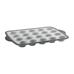 Trudeau Pro Marble Silicone Structure 20 Count Mini Muffin Pan