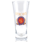 Stroh's Beer Flared Pilsner Glass Officially Licensed, Set of 4