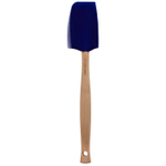 Le Creuset Craft Series Medium Indigo Silicone and Wood Spatula