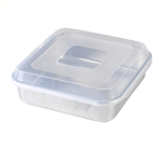 Nordic Ware Naturals Aluminum Square Cake Pan with Lid