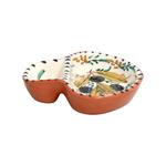 Casafina Alentejo Terracotta Small Olive Dish