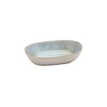Casafina Ibiza Sea Stoneware Small Oval Bowl