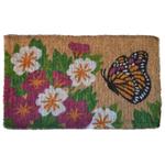 Imports Decor 30 x 18 Inch Butterfly Garden Mat