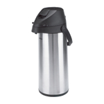 Trudeau Alpha Pump Stainless Steel 64 Ounce Insulated Beverage Pot