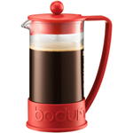 Bodum Brazil Red French Press Coffee Maker, 8 Cup