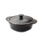 Aroma DoveWare Black 2.5 Quart Covered Stewpot