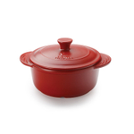 Aroma DoveWare Red 2.5 Quart Covered Dutch Oven