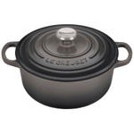 Le Creuset Oyster Signature Round Dutch Oven