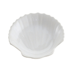 HIC Harold Import Co. White Porcelain 5.5 Inch Shell Dish