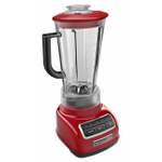 KitchenAid KSB1575ER Diamond Empire Red 5 Speed 60 Ounce Blender and Silicone Blender Spatula