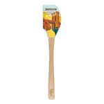 Tovolo Spatulart Limited Edition Tour Brooklyn Spatula with Wooden Handle