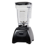 Blendtec Fit Black Blender with FourSide Jar and Silicone Blender Spatula