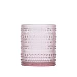 Fortessa Jupiter Pink 10 Ounce DOF Glass, Set of 6