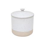 Casafina Fattoria White Stoneware 24 Ounce Canister