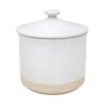 Casafina Fattoria White Stoneware 49 Ounce Canister