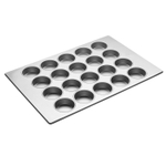 Focus Foodservice Commercial Bakeware 20 Cup Jumbo Muffin Pan